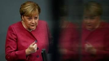 Merkel mahnt eindringlich zur Einhaltung der Corona-Schutzmaßnahmen