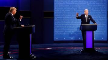 Donald Trump erklärt sich zum Debatten-Sieger: Er jammerte