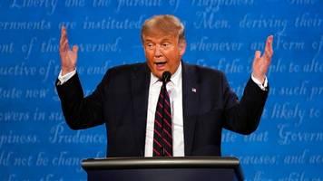 Kommentar zum TV-Duell Trump gegen Biden: Der Totalschaden
