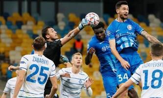 Fußball: Rapid-Bezwinger Gent gegen Kiew chancenlos
