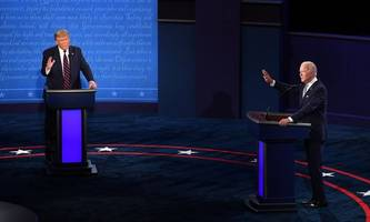 streit über ohren-inspektion vor tv-debatte biden-trump