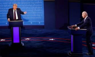 Trump gegen Biden, ein verbales Blutbad [premium]