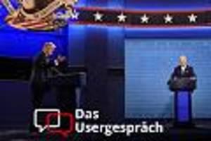Diskutieren Sie mit! - Trump gegen Biden: Wer hat aus Ihrer Sicht gewonnen?