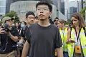 Gesicht der Demokratiebewegung - Vorerst kein Gefängnis: Hongkonger Aktivist Joshua Wong auf Kaution freigelassen