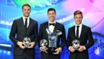 FC-Bayern: Robert Lewandowski ist Europas Fußballer des Jahres