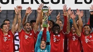Einschaltquoten: Mehr als acht Millionen sehen Bayern-Sieg im Supercup