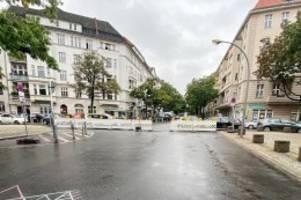 Charlottenburg : Kreuzung im Klausenerplatz-Kiez bis November gesperrt
