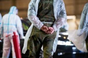 Pandemie: Bundeswehr: Was machen Soldaten im Kampf gegen Corona?