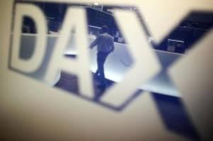 börse in frankfurt: dax legt leicht zu