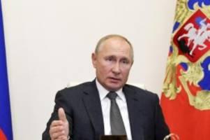 Gemeinsame Erklärung: Trump, Putin und Macron verurteilen Gewalt in Berg-Karabach