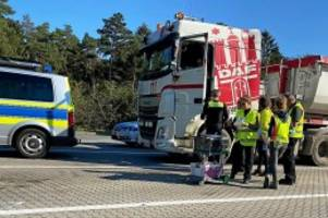 Großkontrolle: Polizei stoppt Gefahrgut-Transporter