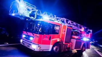 großbrand: anwohner sollen fenster geschlossen halten
