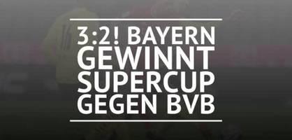 fc bayern münchen gewinnt supercup
