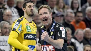 European League: Lösbare Aufgaben für Handball-Bundesligisten
