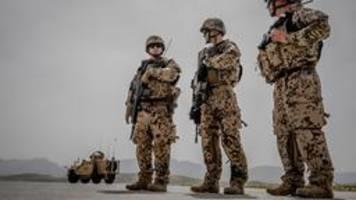 Bundeswehr in Afghanistan: Abzug bis Ende April?