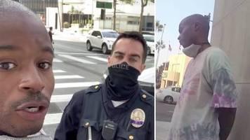 salehe bembury: racial profiling? versace top-designer wird von der polizei kontrolliert