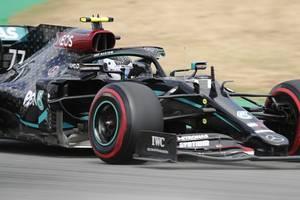 motorsport:mercedes-pilot bottas schnappt sich vor hamilton pole