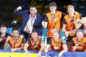 BR Volleys : BR Volleys verteidigen Supercup-Titel mit 0:3