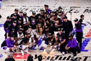 basketball: nba: lebron james führt lakers zum ersten titel seit 2010