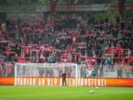 Keine Strafe nach Fangesängen im Spiel gegen Hannover