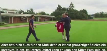 """wenger zur Özil-situation - """"eine verschwendung"""""""