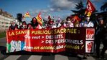 frankreich: landesweiter streik im gesundheitswesen