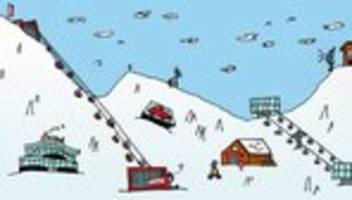 Skigebiete in der Corona-Krise: Tirol im Seich, Graubünden im Hoch