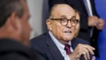 US-Wahl 2020: Rudy Giuliani ist mein Vater – wählt Joe Biden