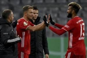 DFB-Pokal: Choupo-Moting und Arp: Zwei Hamburger beim FC Bayern