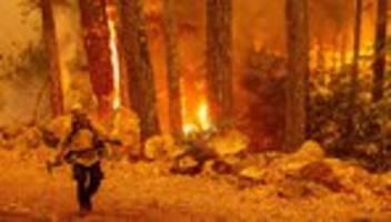 Kalifornien: Trump gibt Notfallhilfe für Waldbrandgebiete frei