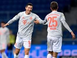 Doan düpiert FC Bayern einmal: Lewandoski und Müller zerlegen Bielefeld