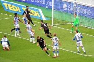 Bundesliga: Hertha patzt gegen Stuttgart: Zu oft einen Schritt zu spät