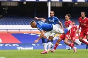 Premier League: Video-Frust für Liverpool: Remis im Derby beim FCEverton