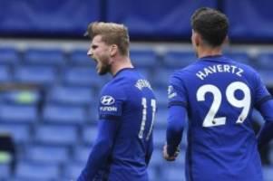 Premier League: Chelsea trotz Toren von Werner und Havertz nur unentschieden