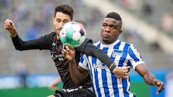 Dritte Hertha-Niederlage in Serie: 0:2 gegen VfB Stuttgart