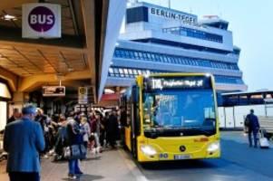 Flughafen Tegel: Endstation Tegel: Eine letzte Fahrt mit dem TXL