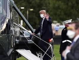 Transport als Preistreiber: So viel kostete Trumps Covid-Behandlung