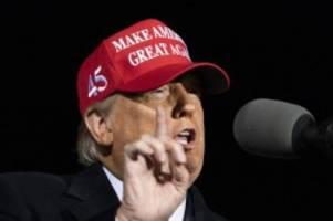 Wahlkampf in den USA: Trump: Wissenschaftler hätten uns Depression beschert
