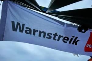elmshorn: 300 mitarbeiter des öffentlichen dienstes streiken