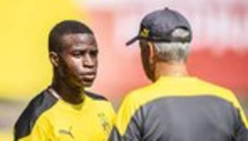 rassistische beleidigungen: viel solidarität mit bvb-talent youssoufa moukoko