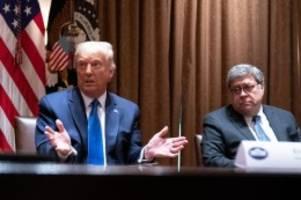 Schmutzkampagne?: Trump ruft zu Korruptionsermittlungen gegen Biden auf