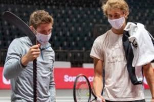 tennis: gemischtes doppel: zverev übt mit eishockey-ikone draisaitl