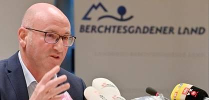 Berchtesgadener Land informiert über verhängten Lockdown