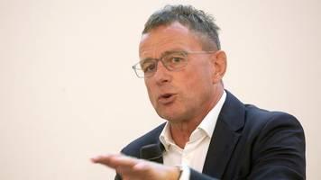 Früherer Leipzig-Trainer - Rangnick sagt AS Rom ab: Verhandle nicht mit ihnen