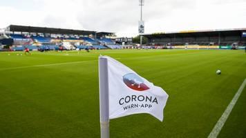 corona in der regionalliga west: mehrere spiele abgesetzt