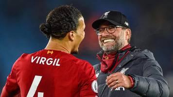 Liverpools Jürgen Klopp: Werden auf van Dijk warten wie eine gute Frau
