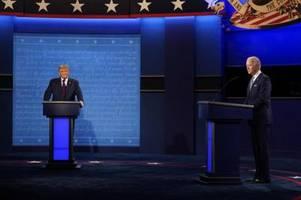 neue regeln für das letzte tv-duell zwischen trump und biden
