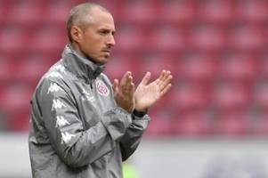 Mainzer Trainer Lichte setzt sich nicht unter Erfolgsdruck