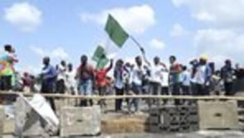 Proteste: EU und UN verurteilen Gewalt gegen Demonstranten in Nigeria
