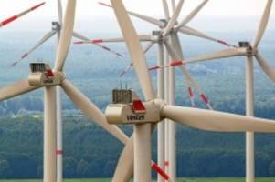 energie: stadtwerke sehen fortschritte bei bau von neuem windpark